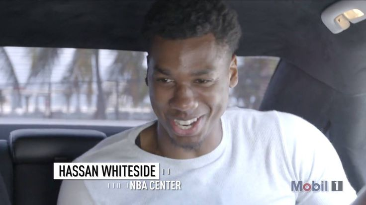 Hassan Whiteside: The Eastern Conference's leader in blocks per game. Now hear how he makes the paint HIS house! Driven to Protect