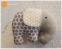Baby Accessories Schnittmuster Elefant nähen Nane schönes aus Stoff