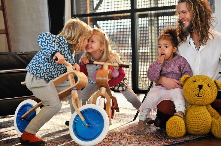 Brum Brum wooden balance bike - Family feelings...