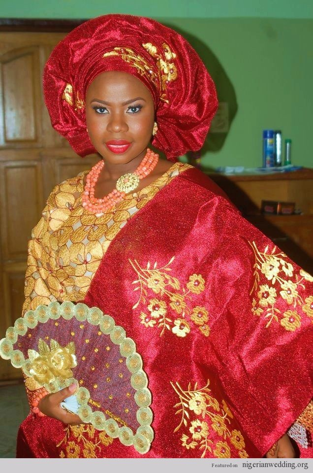 13 best images about african fashion on pinterest for Traditional wedding dress styles