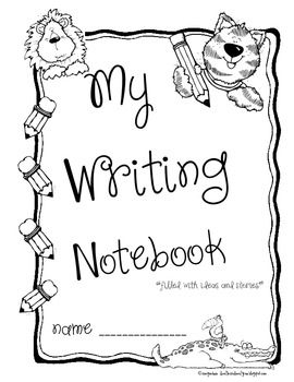 Jungle Theme Writers Folder or Notebook or Journal Cover