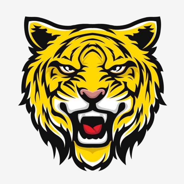 Logotipo Da Cara Do Tigre Logotipo Animal Gato Imagem Png E Vetor Para Download Gratuito Logo Hewan Logo Keren Harimau