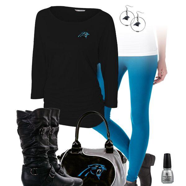 Carolina Panthers Leggings Outfit