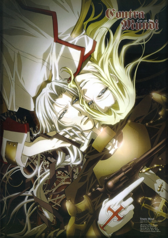 (Trinity Blood) Cain and Abel. That is all.