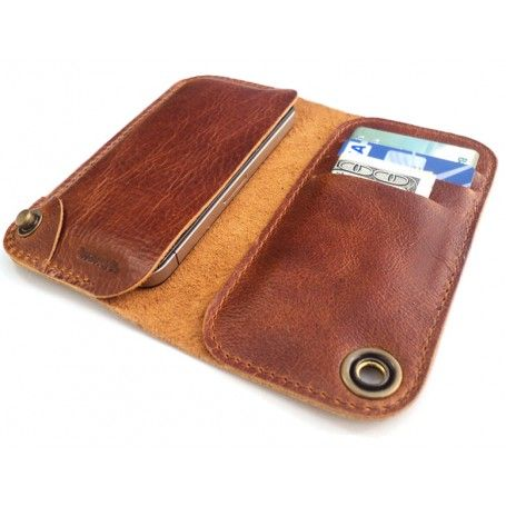 iPhone 5 / 5s leather case and wallet- Elegante Collection