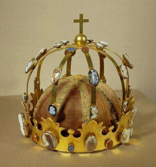 Couronne dite de « Charlemagne », présente au sacre de Napoléon 1er