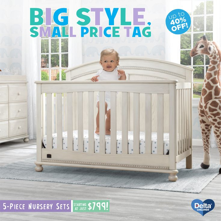 5 Piece Nursery Furniture Set Starting At 799 Includes