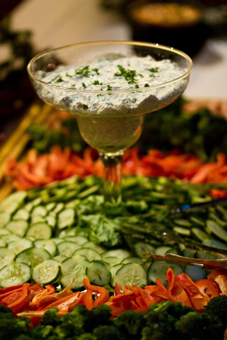Wedding Reception Food Trays