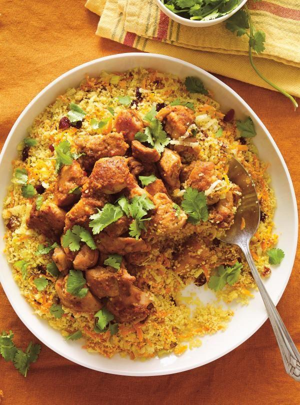 Recette de couscous express au poulet