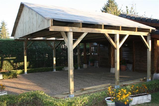 Tela asf ltica de porche de madera casas pinterest - Valsain porche y jardin ...
