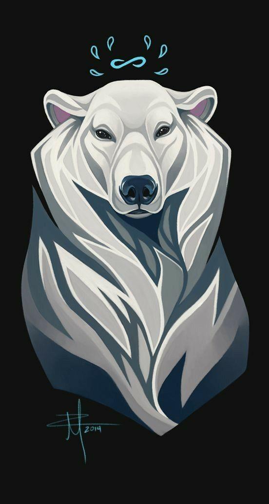 має белый медведь арты возможность