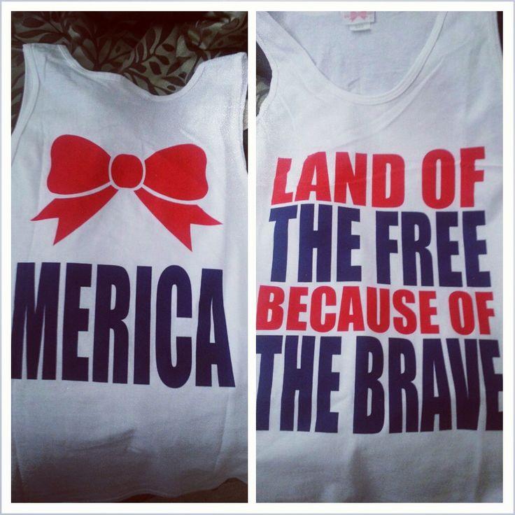 love my July 4th shirt! 'Merica!