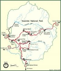 Choosing the best campsite in YosemitePlaces Travel, Yosemite Campsite, Campgrounds Camps, Rv Campsite, Camping Yosemite, Roads Trips, Yosemitee Roads Maps, Camps Fun, Rv Campgrounds California