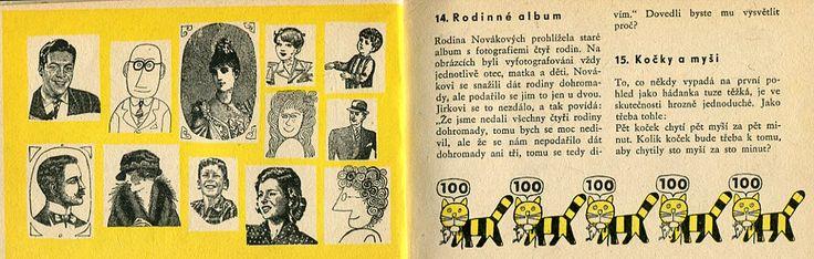 Jiri Kalousek - collages, typo and illustrations from book Hadej hadej hadaci, 1966.