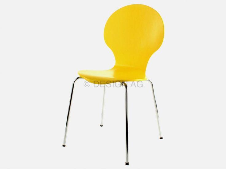 Krzesło Klassiker żółte marki Actona - sfmeble.pl