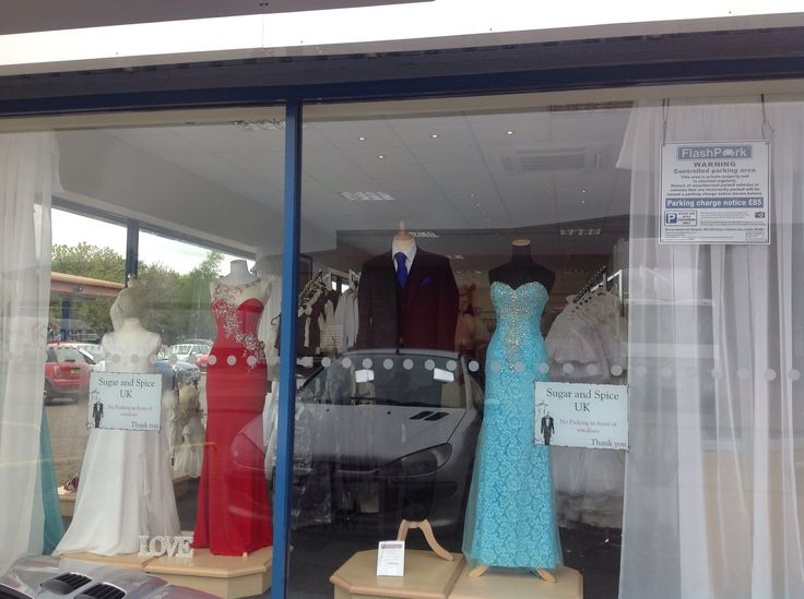Our gorgeous window display in our new shop!