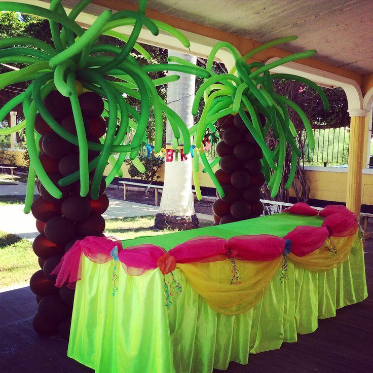 Decoracion Hawaiana En Globos ~ 1000+ images about Fiesta Hawaiana on Pinterest
