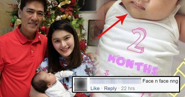 Vic Sotto and Pauleen Luna celebrate the two-month-old birthday of Baby Talitha Sotto