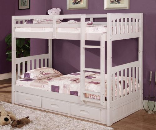 Ridgeline Mission Bunk Bed Twin Bunk Beds White Bunk Beds Bunk