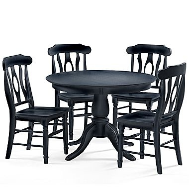 Belmont Standard Height Table Chairs 5 Piece Set