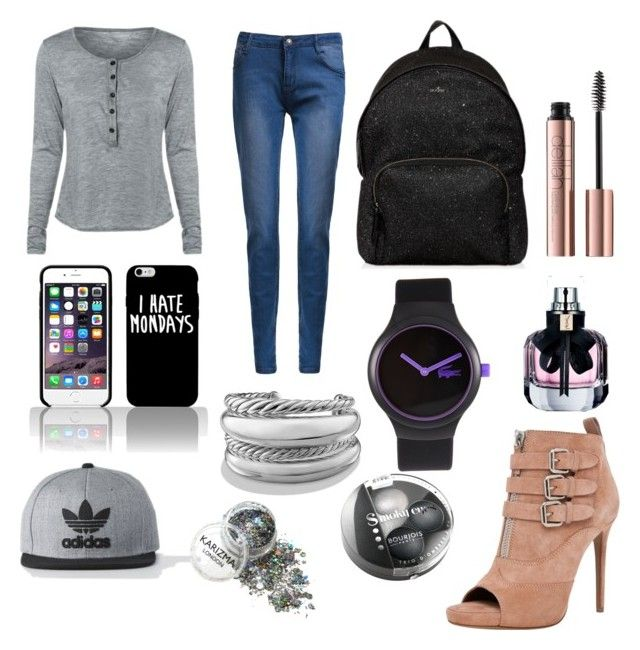"""""""For school!!❤️❤️❤️❤️💗💗"""" by briana-maria-simon on Polyvore featuring interior, interiors, interior design, home, home decor, interior decorating, Tabitha Simmons, Hogan, Yves Saint Laurent and Lacoste"""
