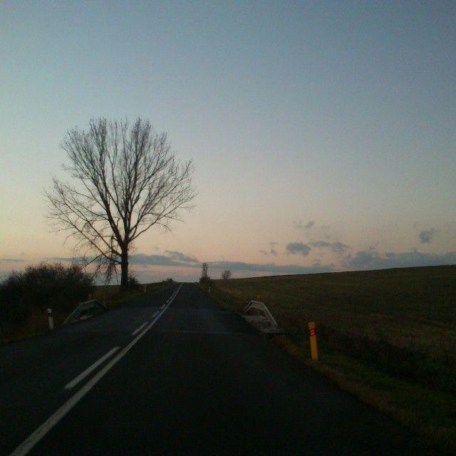 Cesta, #Road :)