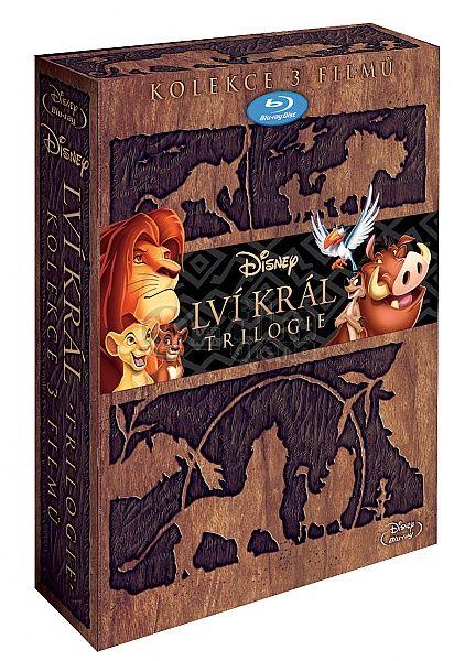 Lví král 1-3 KOLEKCE 3BD (Blu-ray)