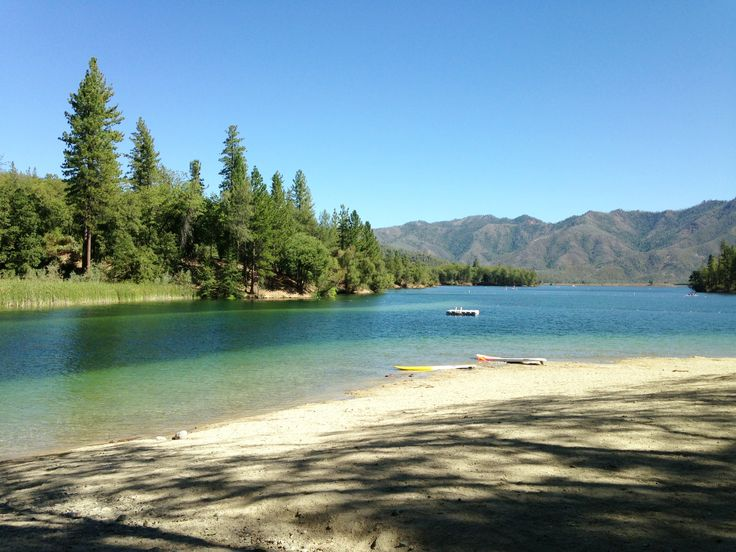 Brandy Creek beach at Whiskeytown Lake. Northern CA// I called & they do still have a lot of water here for swimming, June 2015 (SK)