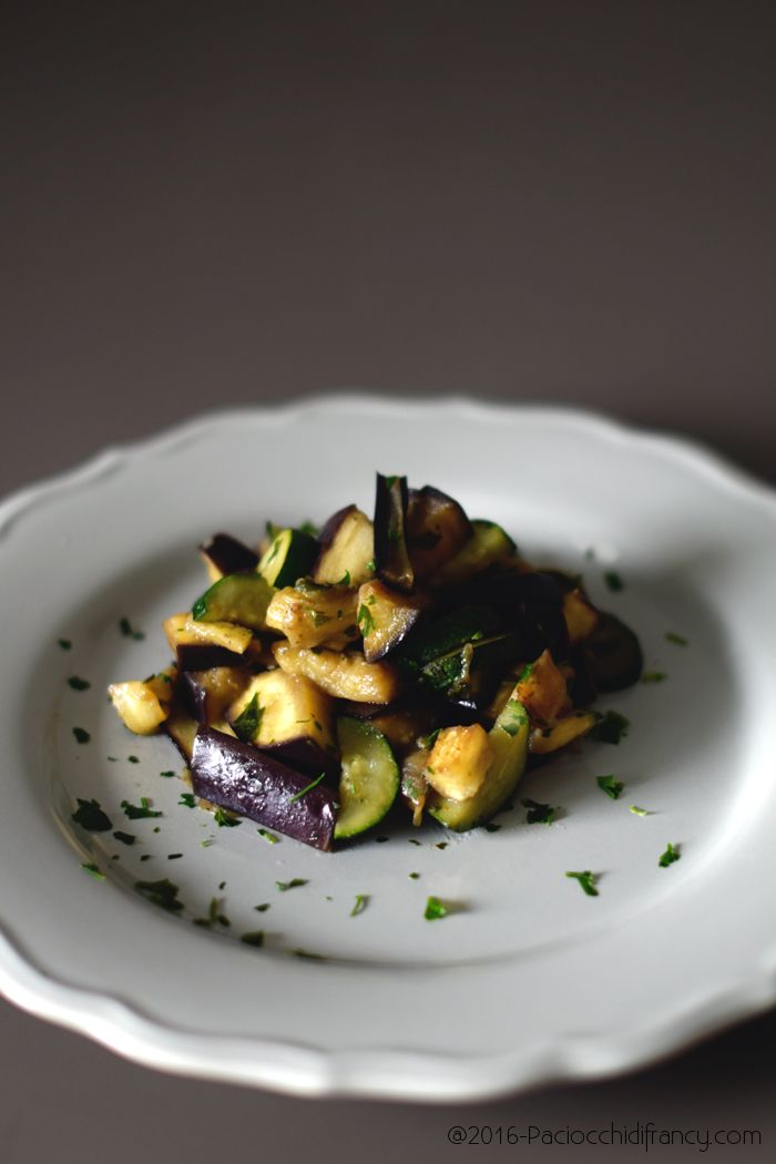 Paciocchi di Francy: Melanzane e zucchini in salsa Teriyaki