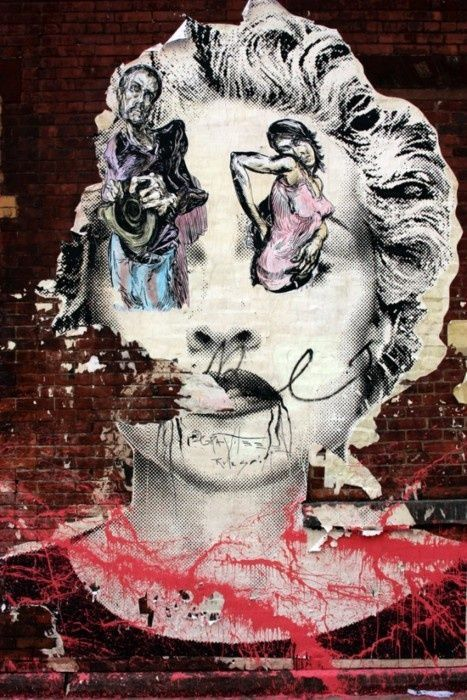 71 best mr brainwash street art images on pinterest for Mural by mr brainwash