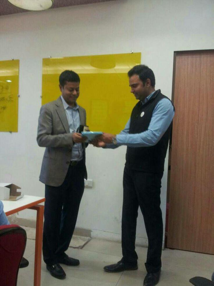 Praveen Sinha with Zimmber cofounder #praveen-sinha #praveen-sinha-Jabong #pincap-praveen-sinha #praveen-sinha-investor