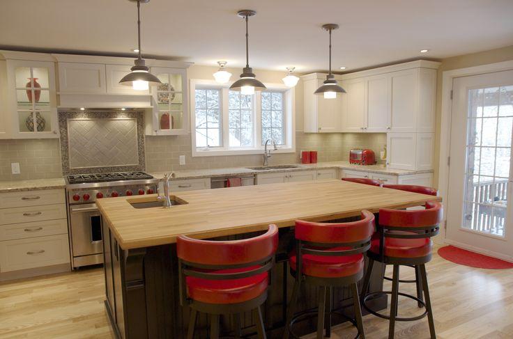 beautiful kitchens ottawa forward redaccent butcherblock kitchen