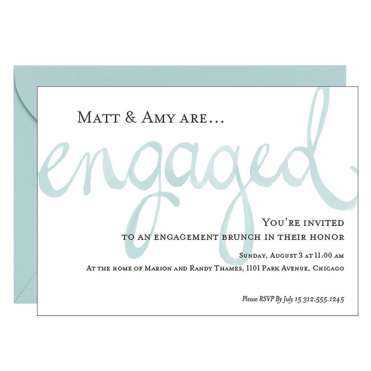 27 best Engagement Party Invitations images on Pinterest - how to word engagement party invitations