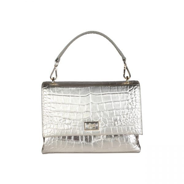 Cavalli Class – C00PW16C52B2  Clutch S/S Collection Women's bag has 1 removable handle, 1 removable shoulder strap, magnetic fastening and a dustbag. Inside it, there are a zipped pocket and 2 patch pockets. It's outside and lining composed of leather and 100% CO, respectively. It is of size 20*14,5*8 cm.  https://fashiondose24.com