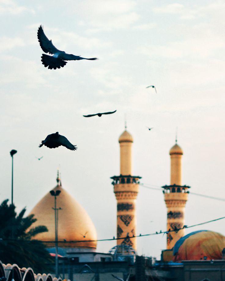 Imam Hussein (as) shrine. Karbala, Iraq. Muharram 1437/2016.