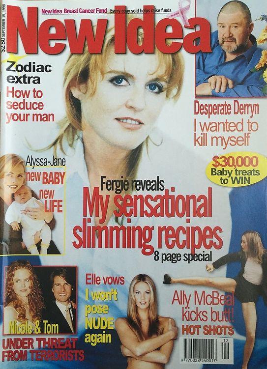 New Idea Magazine September 19, 1998 - Fergie