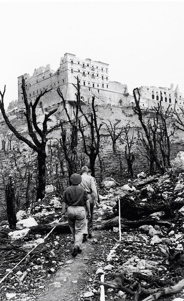 Montecassino destroyed