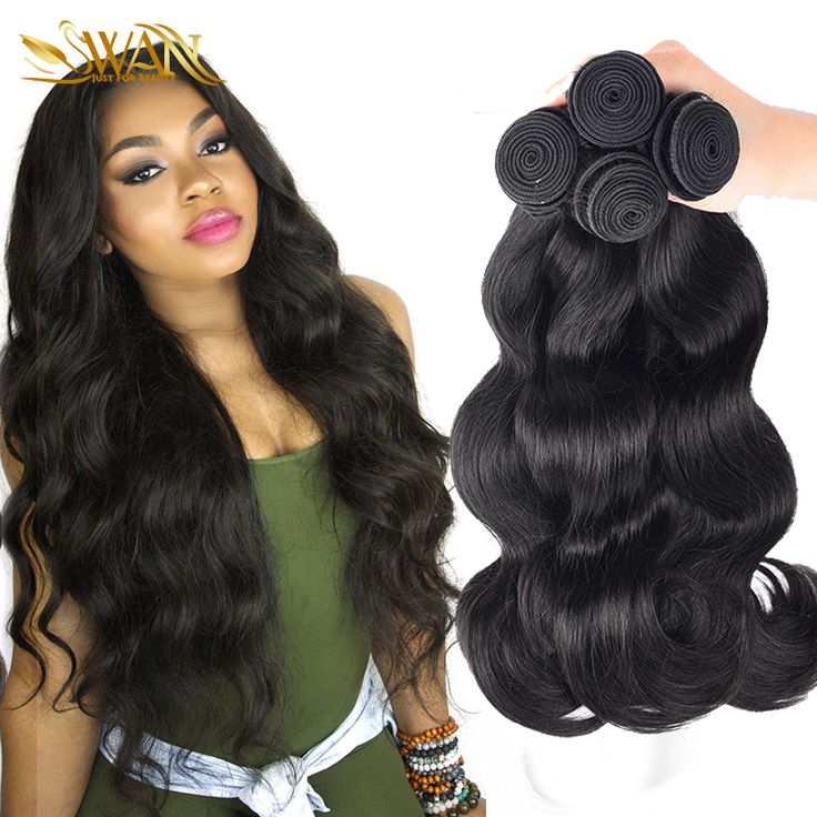 Mink Brazilian Virgin Hair Body Wave 3 Bundles Unprocessed Human Hair Extensions Annabelle Hair 7A Brazilian Hair Weave Bundles * Klik tombol KUNJUNGI untuk melihat rincian