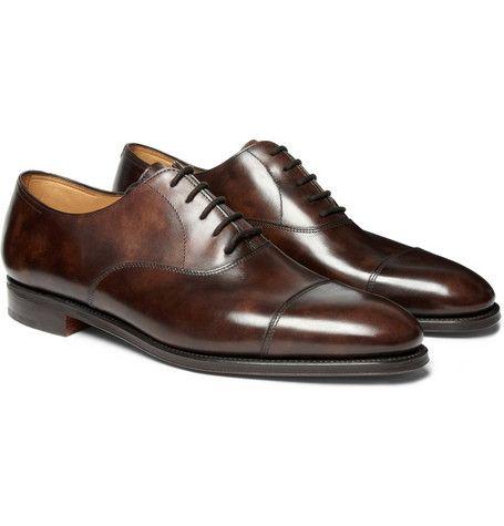 John LobbCity II Leather Oxford Shoes