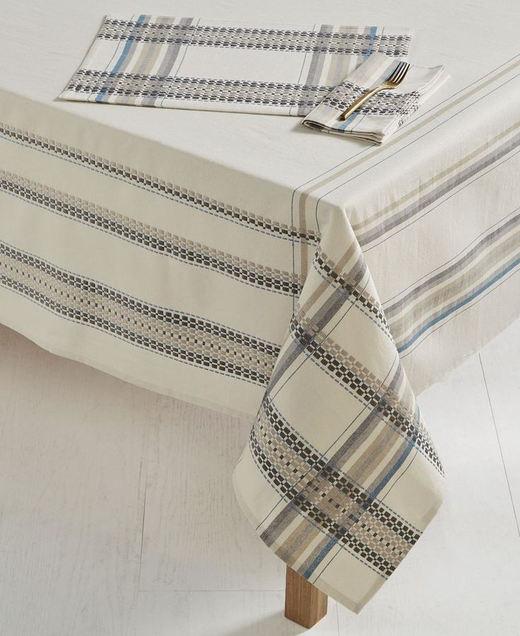 """Bardwil French Picnic 70"""" Square Tablecloth"""