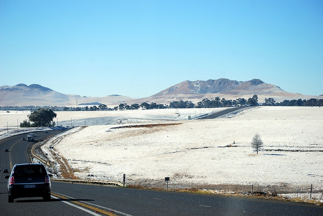 Snow in Harrismith - South Africa