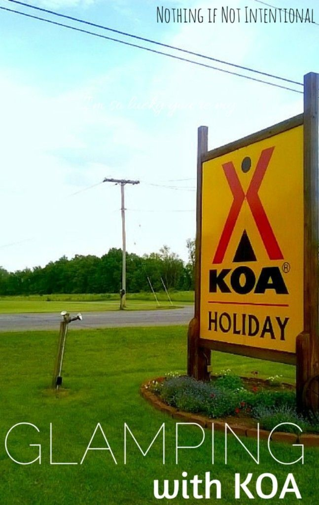 KOA Glamping Foster Care And A Weekend Of Bonding