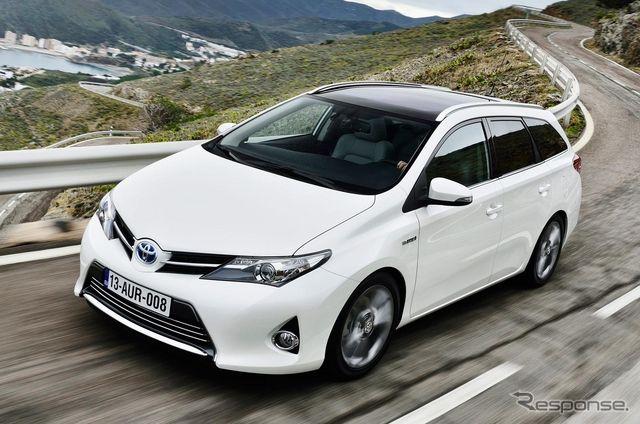 トヨタ、欧州でハイブリッド車の販売拡大…新型オーリスワゴンでは全体の45%へ 3枚目の写真・画像 | レスポンス