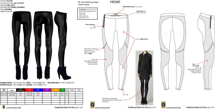 legging tech pack for Improvd by maurice malone