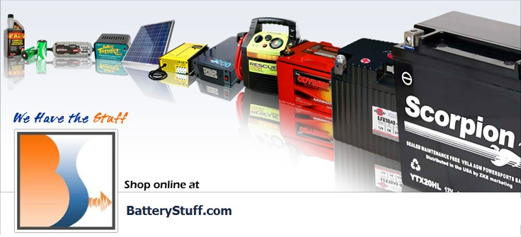 Be sure to check out our Facebook Page if you haven't already had the chance. https://www.facebook.com/BatteryStuff