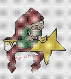 Nisse med stjerne - Elf with star