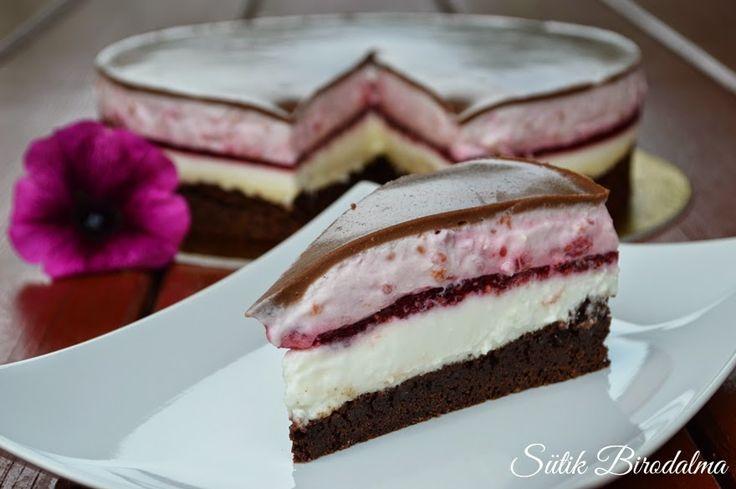 Nem igazán tudtam, hogy pontosan milyen nevet adjak ennek a tortának, ugyanis szívem szerint Szexi tortának hívnám, minden...