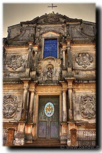 Caltagirone . Chiesa di S. Francesco d'Assisi