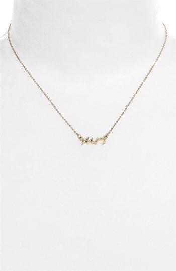 kate spade ' mrs' necklace