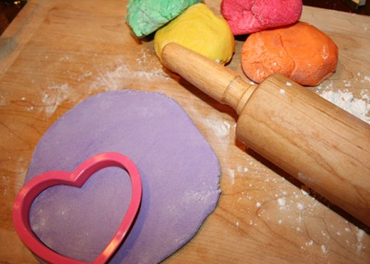 Salt Dough Conversation Heart Ornaments (Could use for any holiday!)